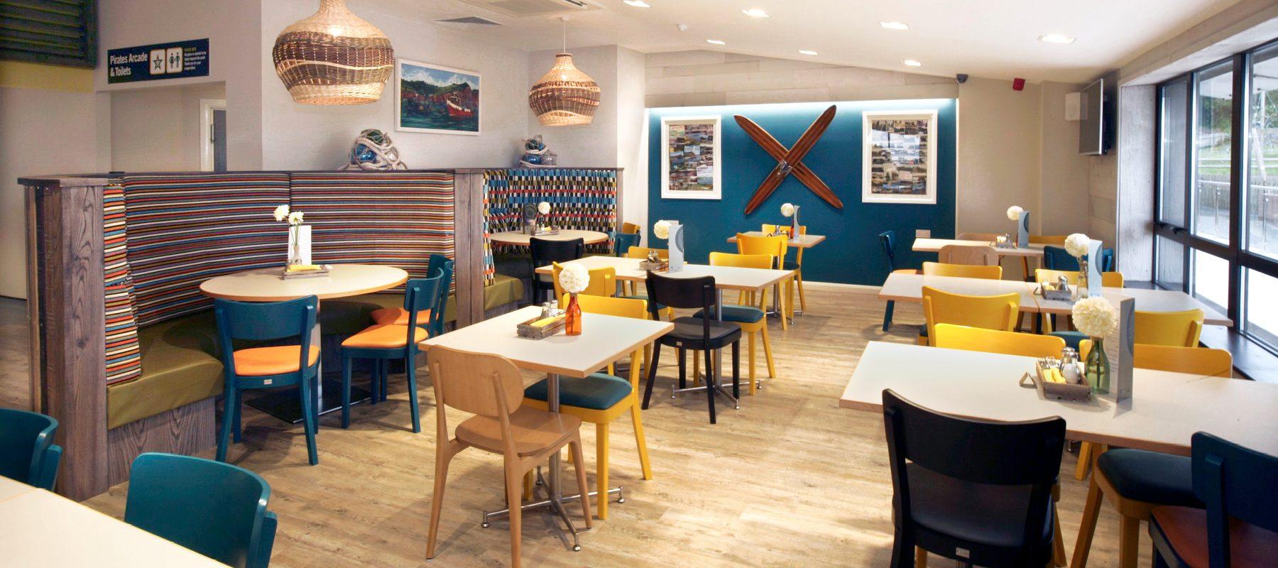 holiday park seaside restaurant ladram bay
