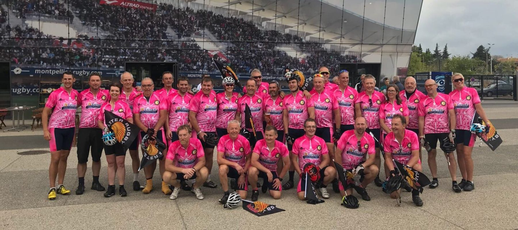 Mark's Euro Cycle Challenge with Exeter Chiefs