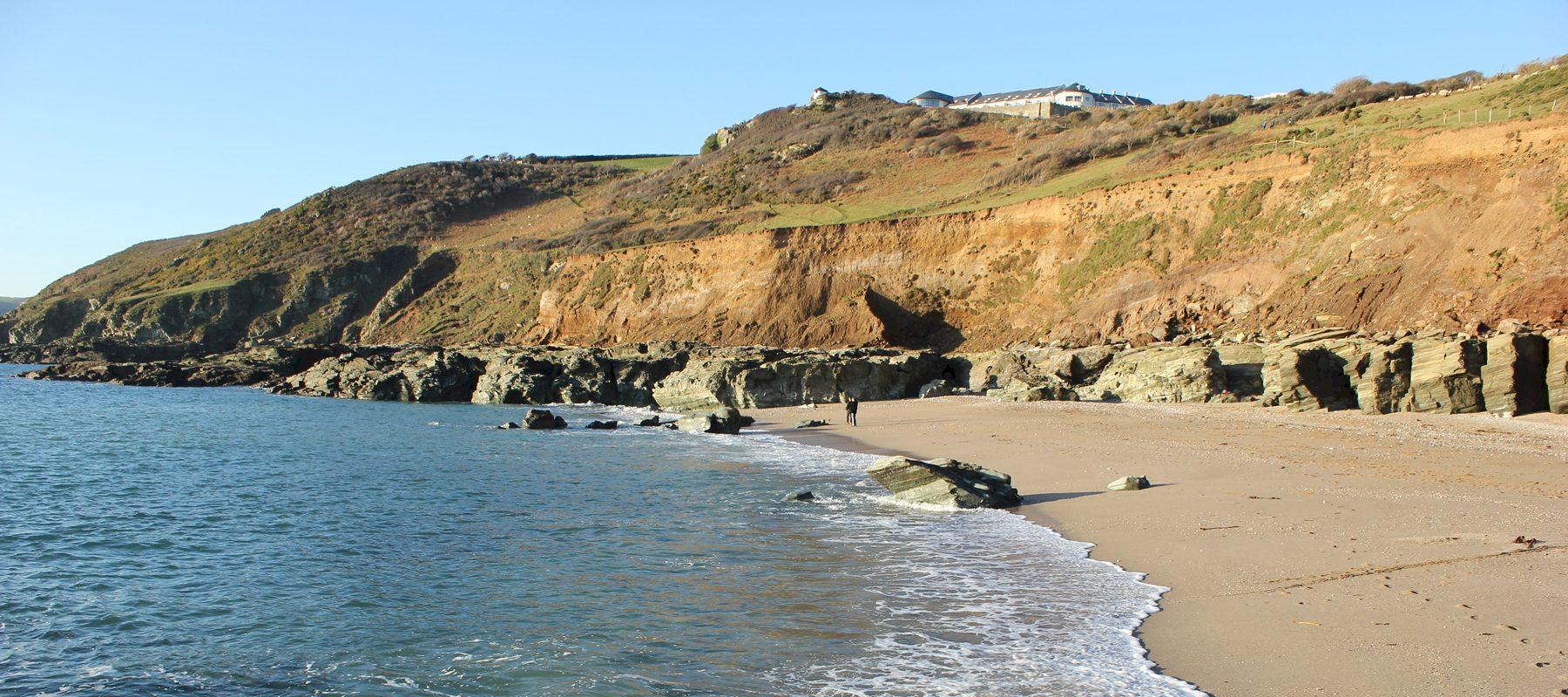 4 Beautiful Winter Beach Walks in Devon