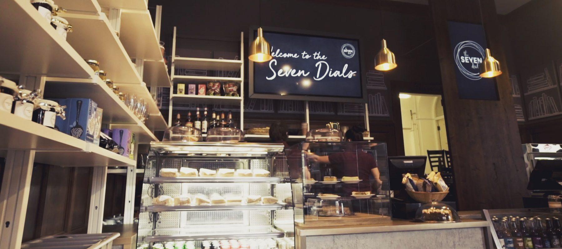 Digital Signage solution for The Seven Dials Cafe